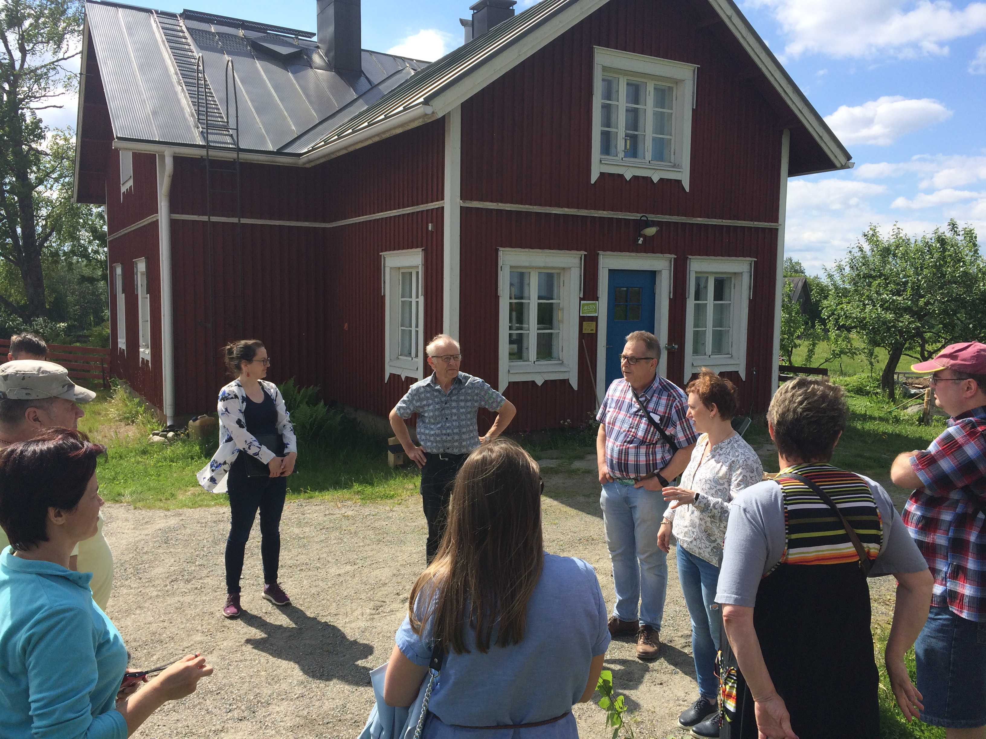 NatureBeST study tour to Finland