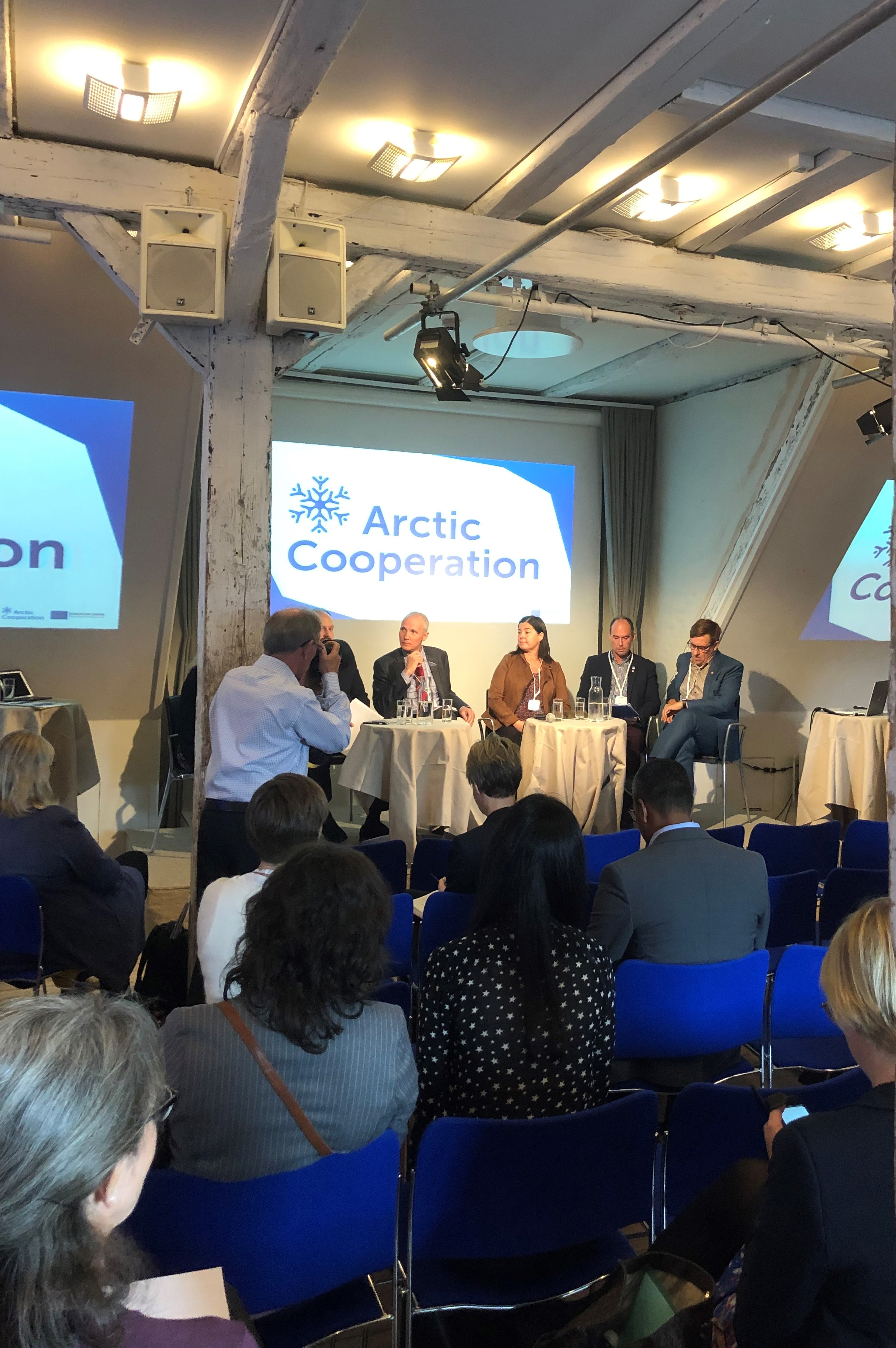 Panel Discussion in Arctic Cooperation Conference