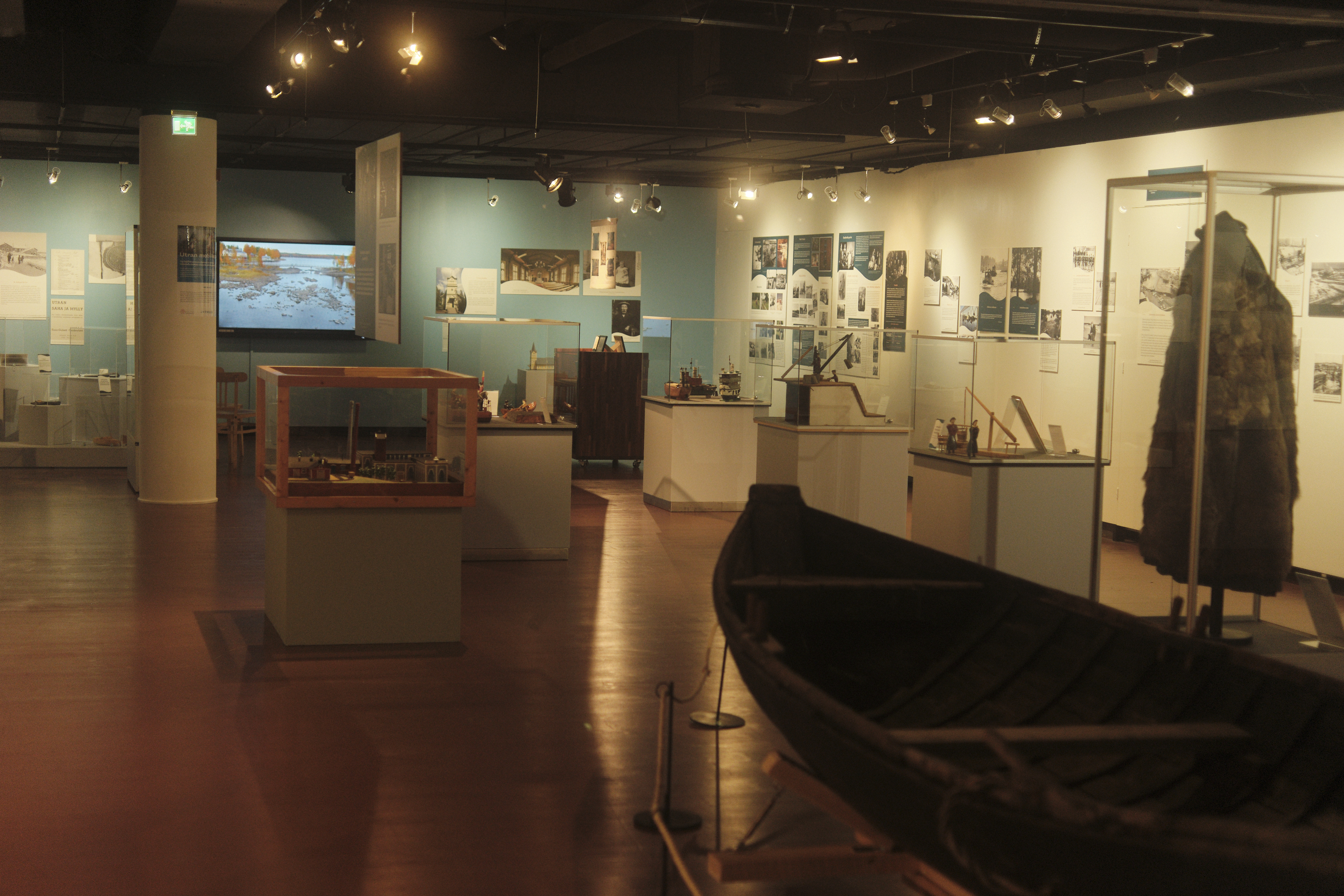 "A new exhibition ""Stories from the River Pielisjoki"" in North Karelian museum"