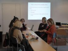 Communication workshop in Vuokatti