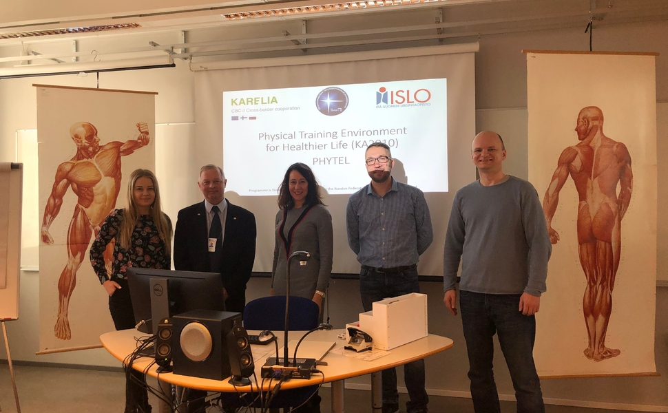 Strategic session of PHYTEL project in Joensuu