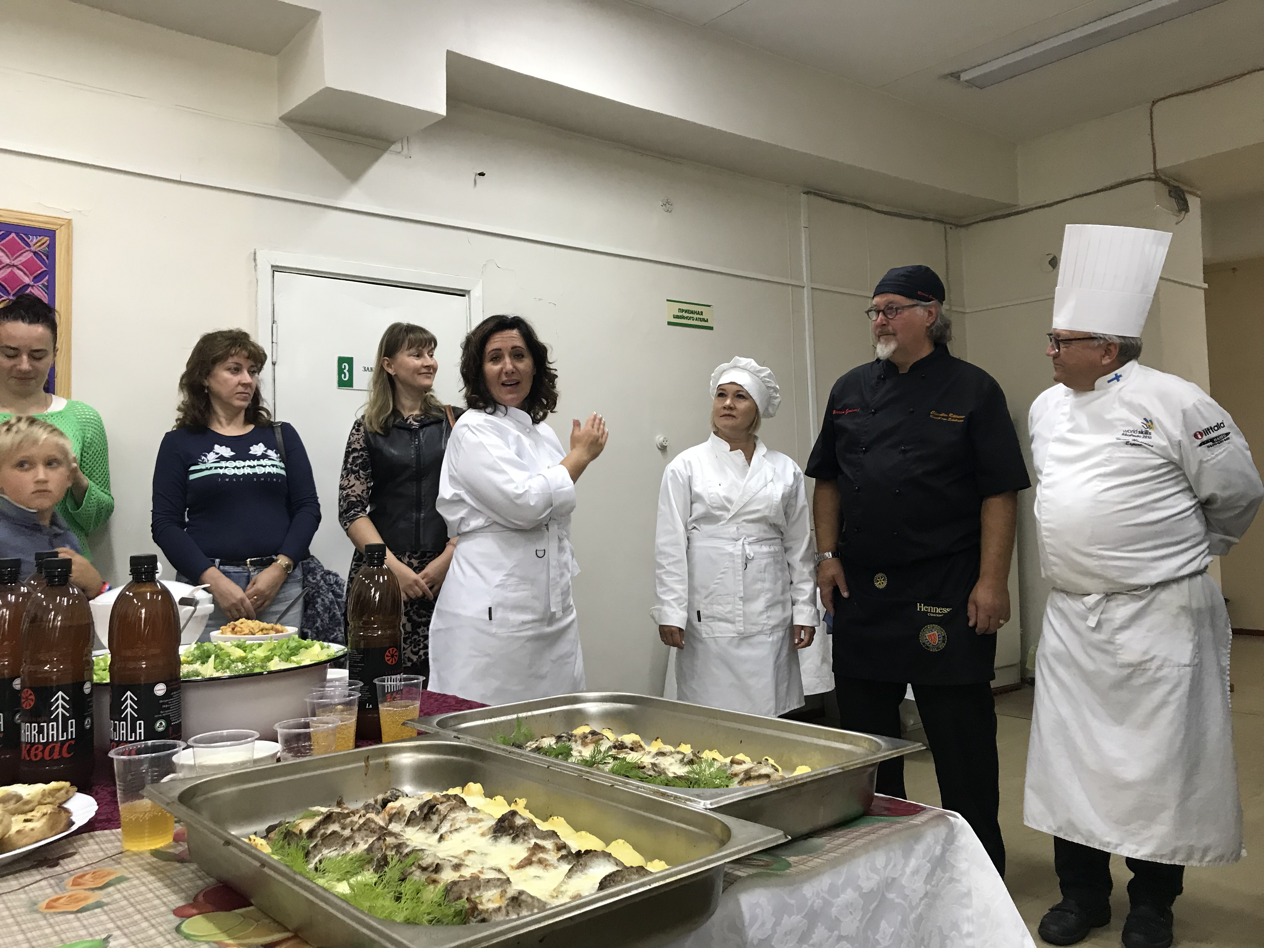 Cooking master-class