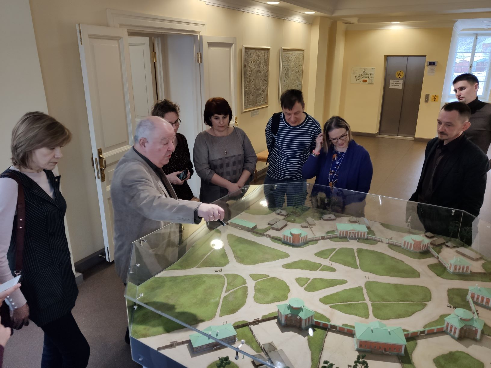Partners from the North Karelian museum, Joensuu visited the InterActive History project team in Petrozavodsk