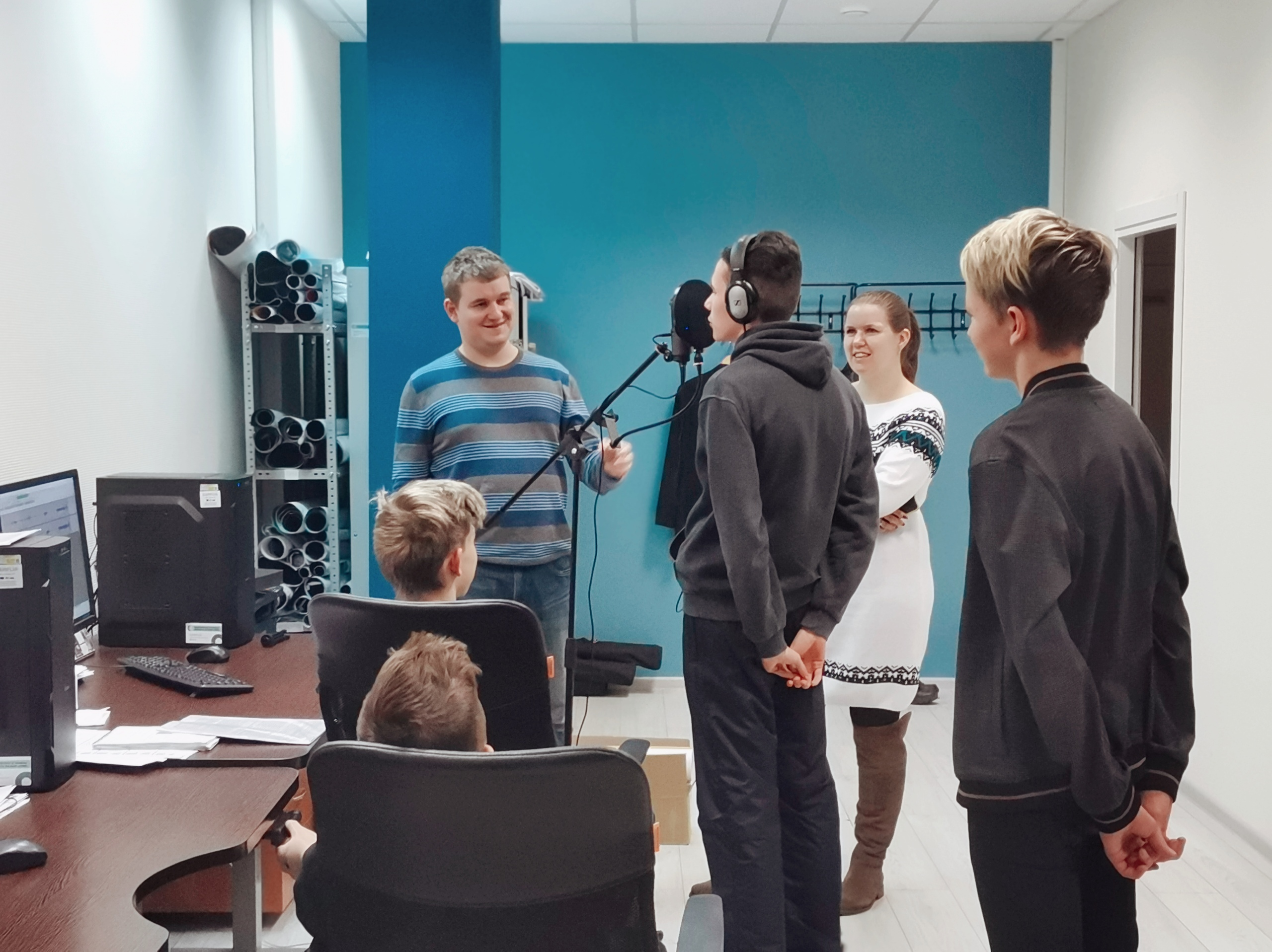 First youth projects in the Film Incubator