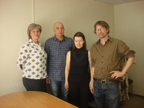Meeting with kantele performers, May 2019