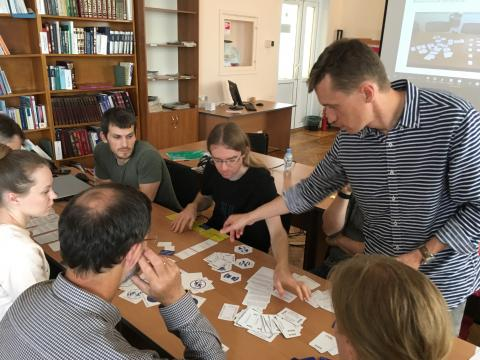 DIAS workshop in Petrozavodsk