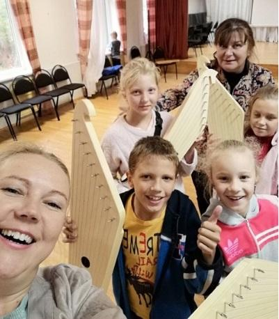 New kantele for young musicians in Karelia