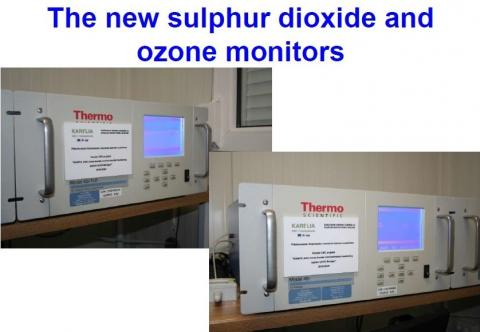 New air quality monitoring equipment of FMI